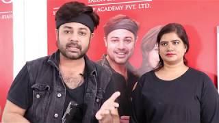Straightening Done On Heena Hair ....Sam And Jas Tutorial In Hindi