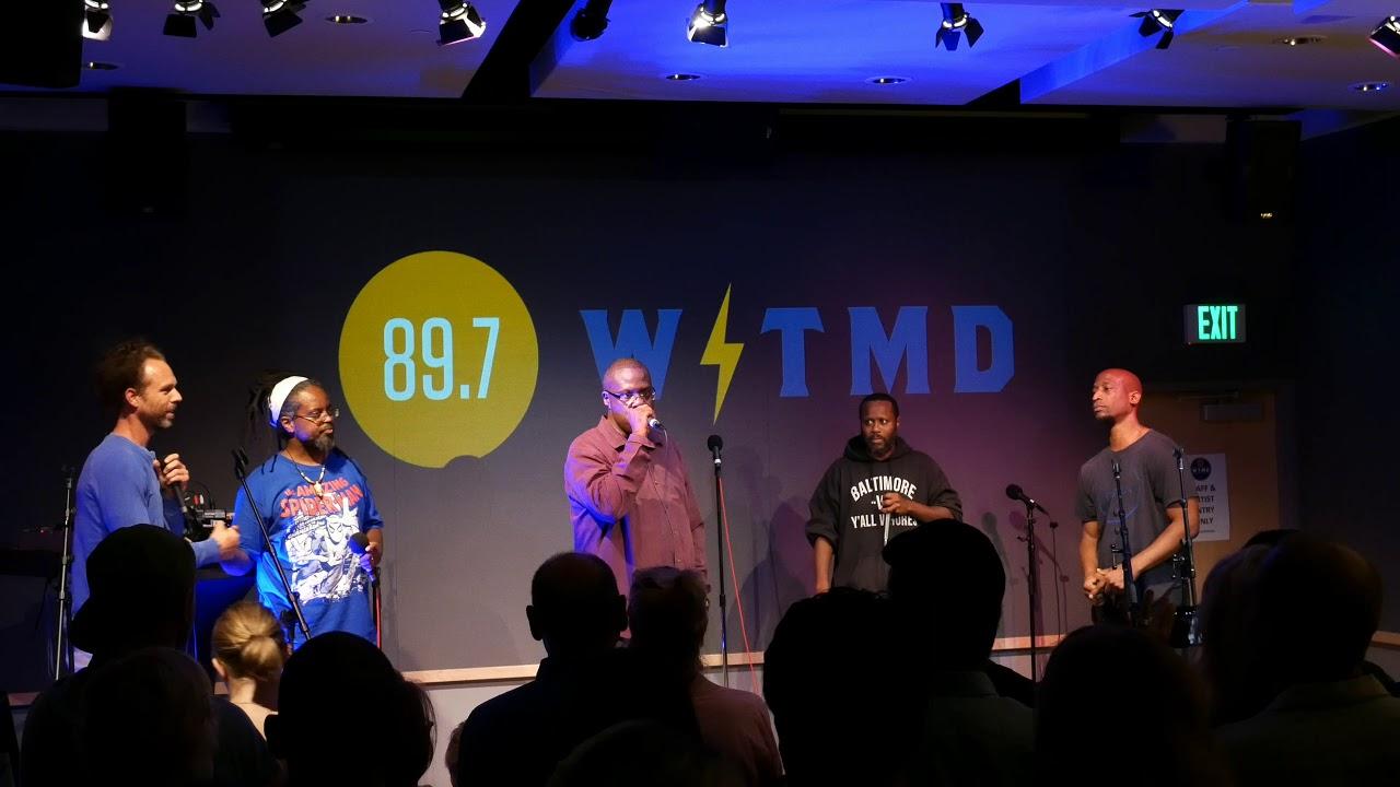 D O A , SHODEKEH, MAX BEATS, WENDEL PATRICK & CHUCK MADDOX: Live @ EMBODY,  WTMD 89 7 FM, 10/5/2017