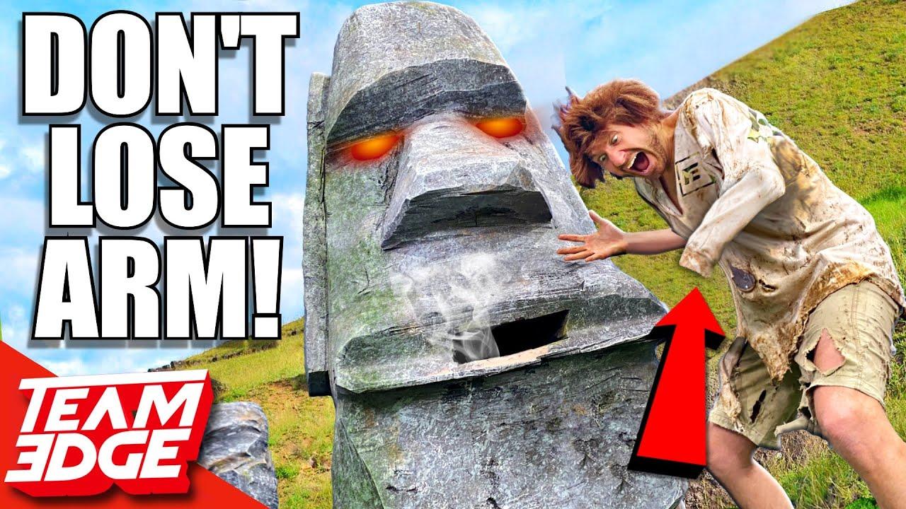 Win PRIZE or Lose ARM! *Stone Head Decides Fate*