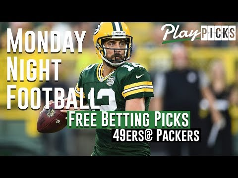 Monday Night Football NJ Betting Free Picks - 49ers vs. Packers