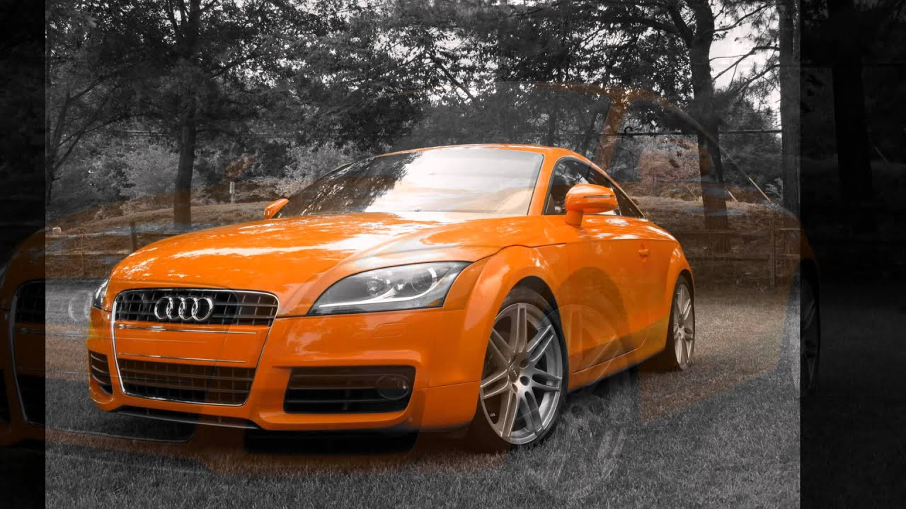 Orange Audi Tt Youtube