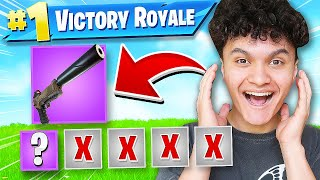 WINNING with FIRST WEAPON CHALLENGE in Fortnite (SOLO DUO)