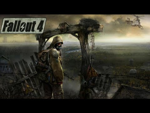 Fallout 4 Ep 41 Mass gravel and sand and finding a other power armour suit