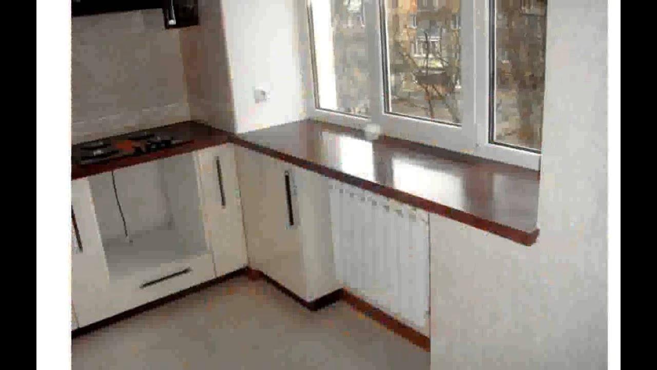 Оформление интерьера кухни в хрущевке.