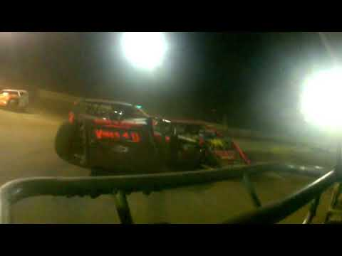 Rear View Cam Of Chris Smith at Highland Speedway 6-16-18
