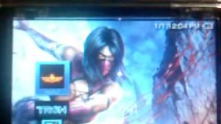 Mortal Kombat PSP 32 gb