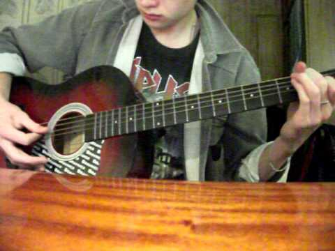 System of a down - Lost in Hollywood (acoustic guitar cover)