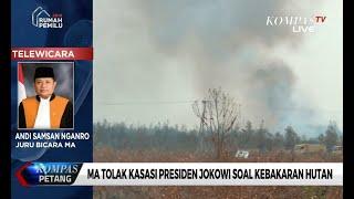 Mahkamah Agung Tolak Kasasi Presiden Jokowi Soal Kebakaran Hutan