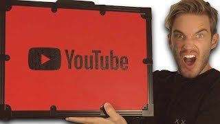 Unboxing 100 MIL YouTube AWARD!! thumbnail