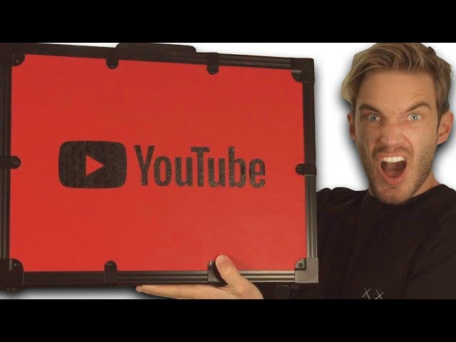 Unboxing 100 MIL YouTube AWARD!!