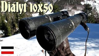 Hensoldt Wetzlar Dialyt 10x50 | German Binocular WW2 | бинокль немецкой армии