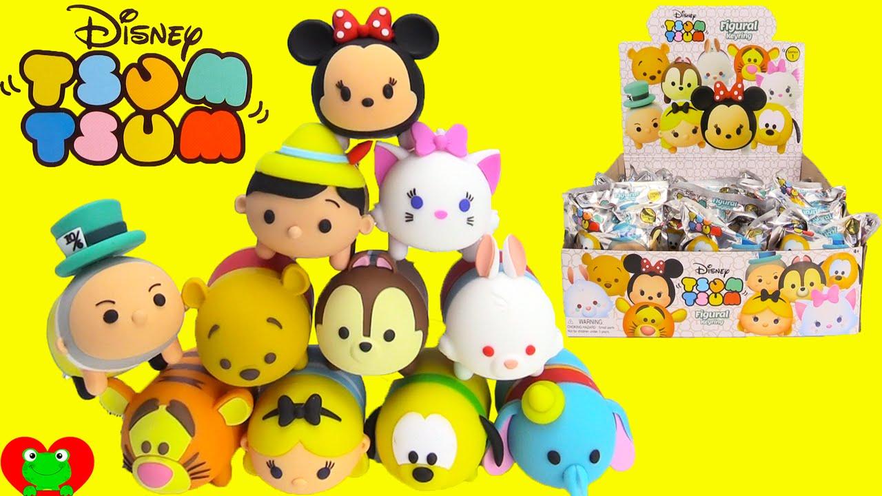 Toy Disney Figural Genie Keyrings Tsum Full Set TJu1lc3FK