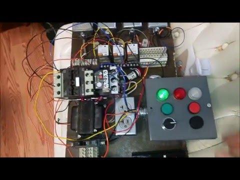 Motor Starter Control Circuit Demonstration