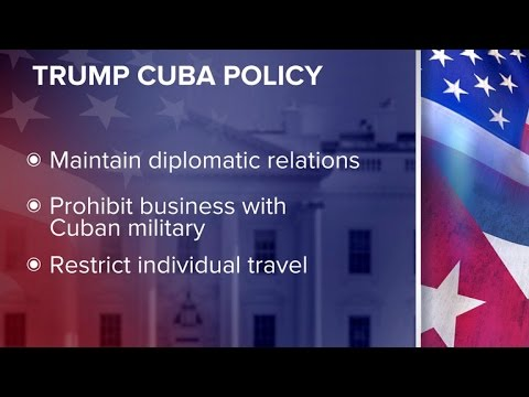 Trump to announce new Cuba policy