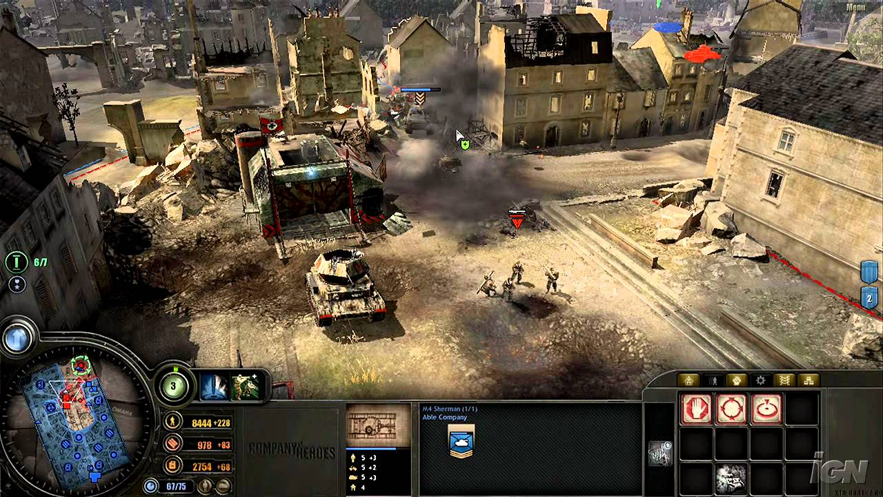 Company of Heroes Gameplay
