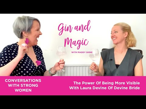 The power of being more visible with Laura Devine of Devine Bride