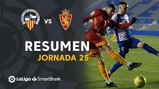 Resumen de CE Sabadell vs Real Zaragoza (1-1)