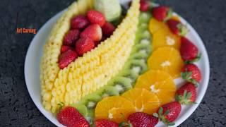 Delicious dish of Natural Fruits | Healthy food