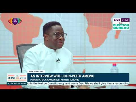 Point of View: Interview with Energy Minister, John-Peter Amewu