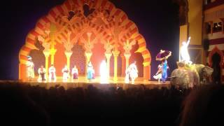 California Adventure Disney S Aladdin A Musical Spectacular Part 1