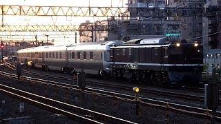 2018/10/02 【回送】 カシオペア紀行 EF64-1052 金町駅