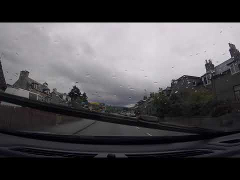 Driving in Scotland, United Kingdom - Speyside to the Highlands