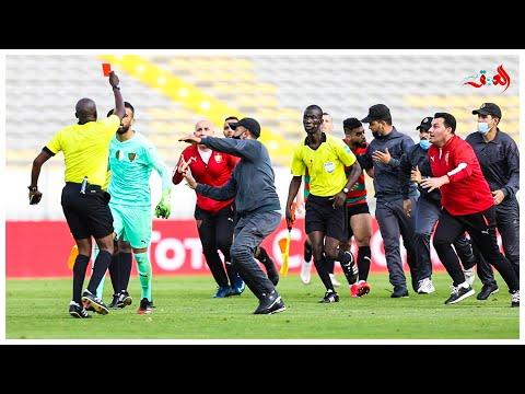 القصة الكاملة لهجوم مكونات مولودية الجزائر على حكم المباراة