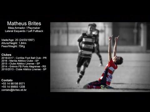 Matheus Brites - 1997 - Meia / Lateral Esquerdo / Volante