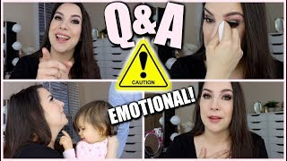 Q&A! Part 2   Baby #3? Guilty Pleasure? Return to News?