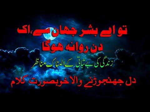 Heart Touching Naat  | Tu Ae Bashar Jahan Main | Hafiz Muhammad Shoaib