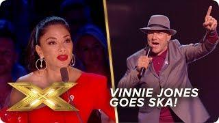 Vinnie Jones goes Ska with 'Lip Up Fatty'   Live Week 2   X Factor: Celebrity