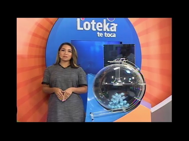 Loteka Lotería Electrónica Sorteo 06:00 PM 11-01-2021