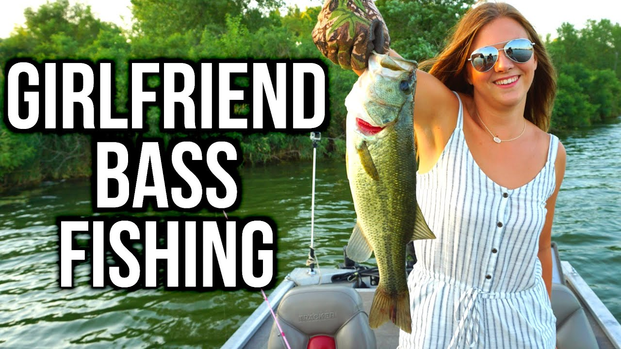 Girlfriend Summer Bass Fishing ft  iBobber