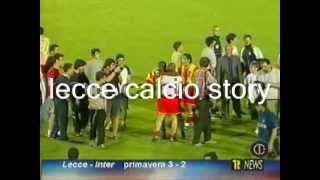 E' il 5 giugno 2003. nella finalissima di siena, lecce 'primavera' batte l'inter in finale col risultato 3 a 2 e si laurea campione d'italia per la pri...