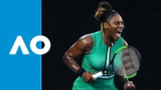 Final game: Serena Williams defeats Simona Halep (4R) | Australian Open 2019