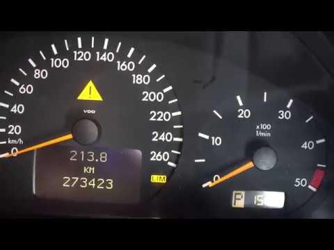 Замена лампочки на приборной панели Мерседес.Replacing The Bulb On The Mercedes Dashboard