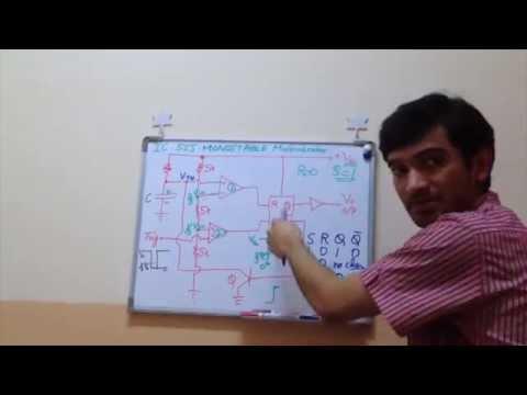 IC 555 Timer Monostable Multivibrator Working Explained