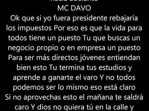 Letra De Mc Davo El Mañana Vídeo Oficial