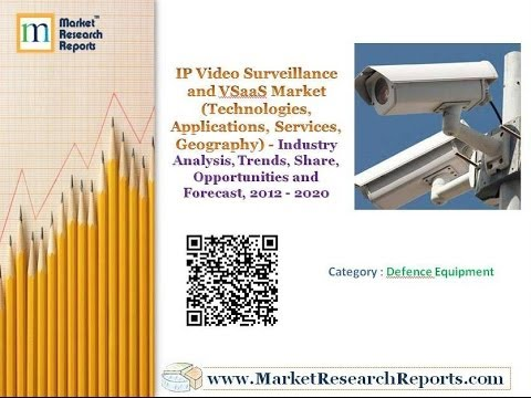 IP Video Surveillance and VSaaS Market (Technologies, Applications, Services, Geography)