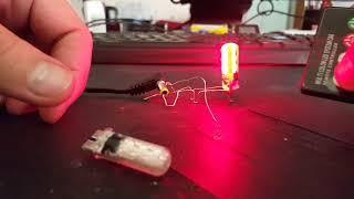 RGB Т10 светодиодные лампочки с ДУ