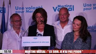 """Municipales à Marseille : """"Ce soir, je n'ai pas perdu"""" (Vassal)"""