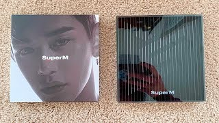 Gambar cover ✨😅A Kinda Ranty Unboxing of SuperM 슈퍼엠 1st Mini SuperM [United + Lucas Ver]