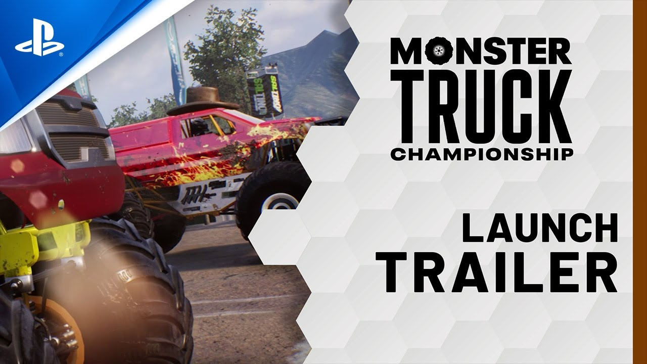 Monster Truck Championship Launch Trailer Ps4 Youtube