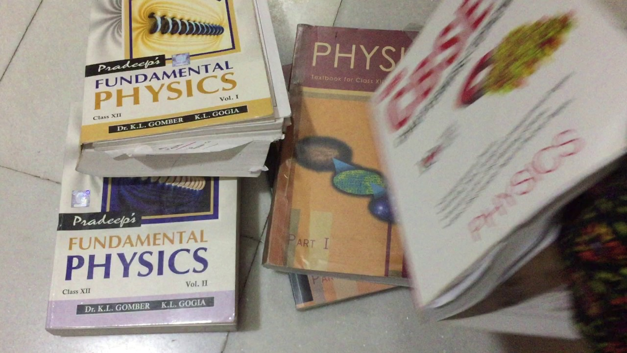WHICH books to STUDY from for class 12 physics ?