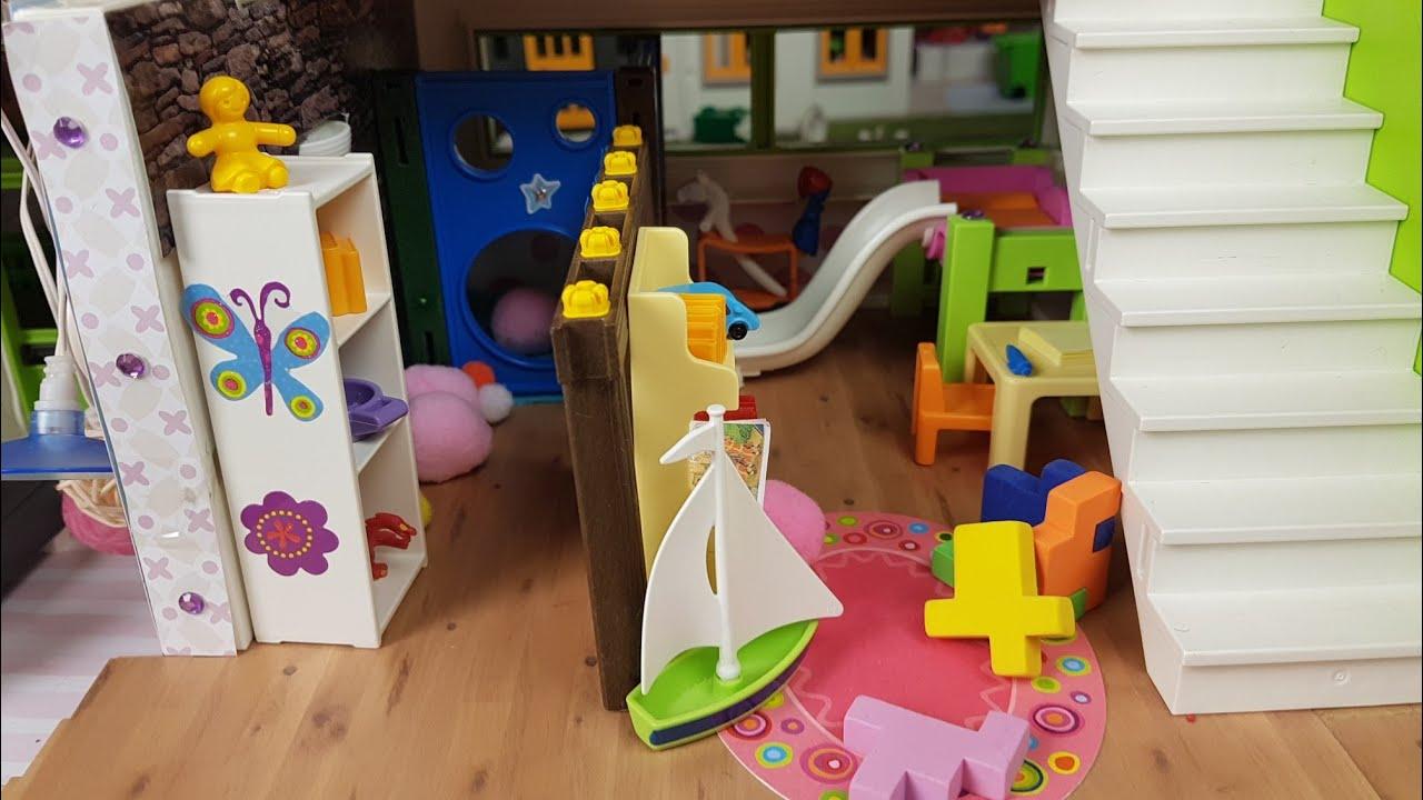💛Playmobil Luxusvilla// Spielzimmer//Kinderzimmer//Herbst//  Playmospezial//Familie Sonnenschein
