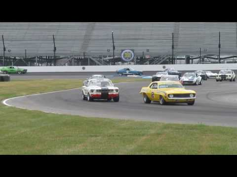 2017 Brickyard Vintage Racing Invitational - SVRA, Indianapolis - Group 6 Pro-Am Race 1st Lap