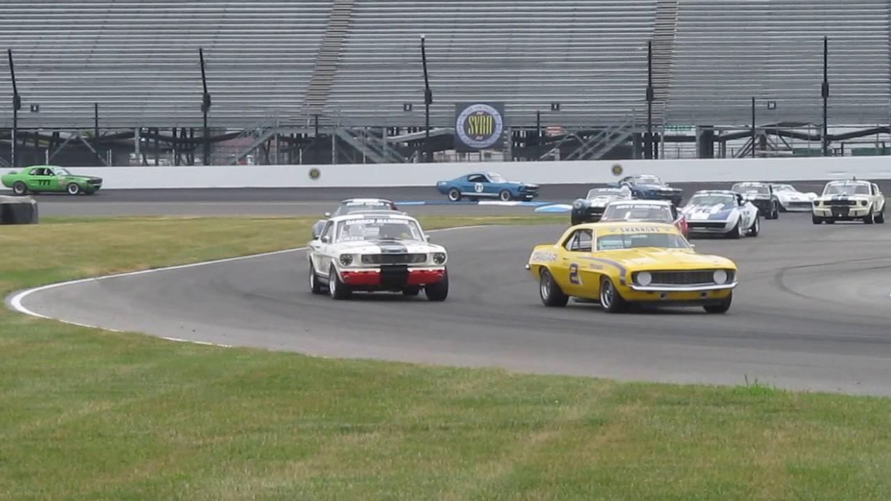 2017 Brickyard Vintage Racing Invitational - SVRA, Indianapolis ...