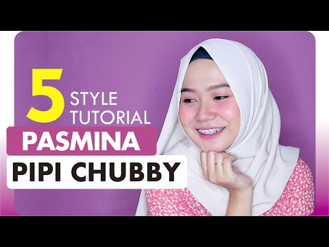 Tips dan Tutorial Hijab Crinkle Untuk Wajah Bulat dan Tembem.