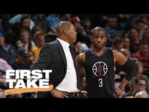 Doc Rivers The Reason Chris Paul Left Clippers? | First Take | June 29, 2017