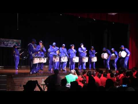 Mainland drumline - Battle of the beats 2014
